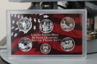 2003 - S 25c State Quarters - Silver,  Dc (proof) photo