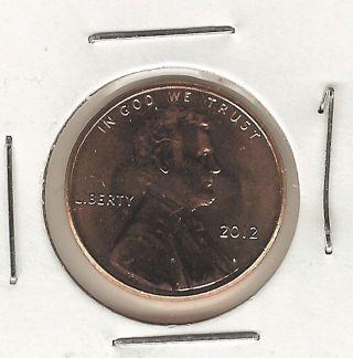 2012 1c Shield Lincoln Cent photo