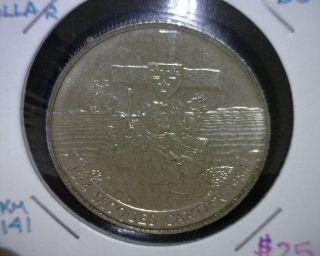 1984 Canada Dollar Coin,  Bu,  Km 141 photo