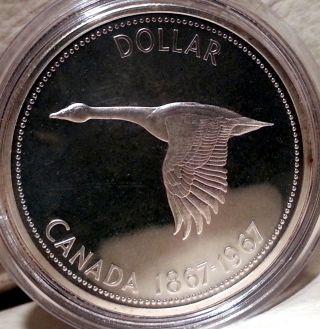 1967 S$1 (prooflike) Canada Dollar photo