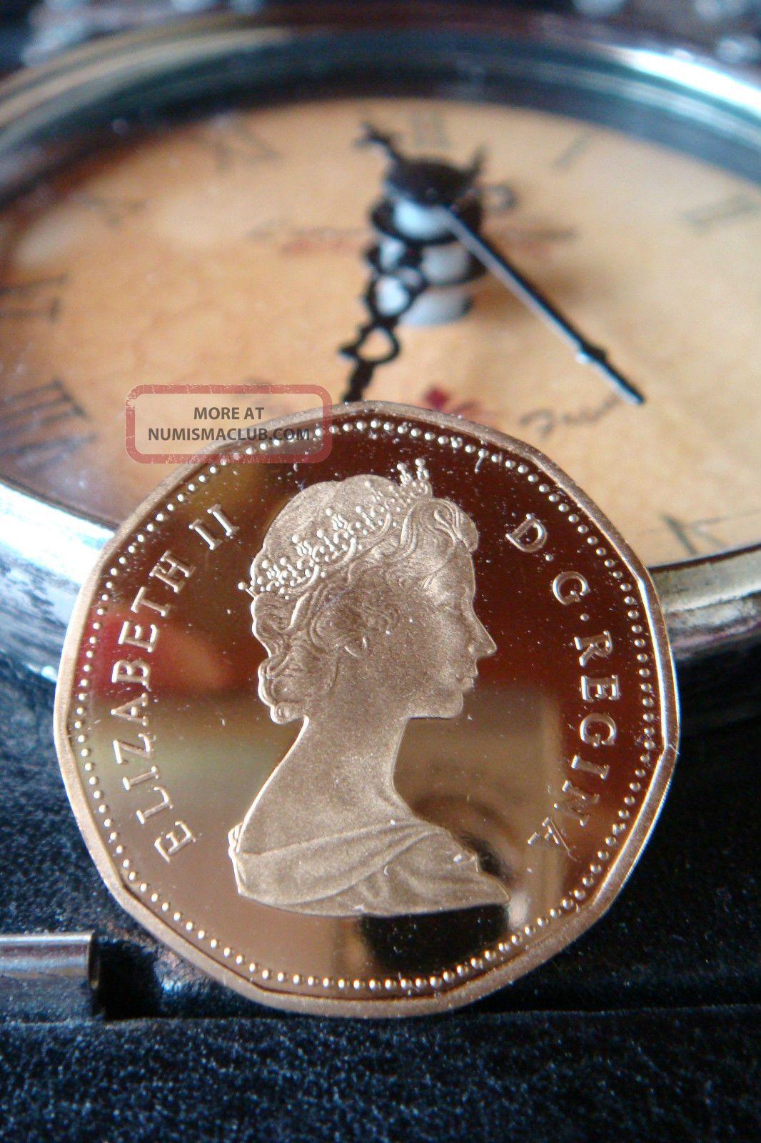 Canada Proof Loon Dollar 1987/gem/rare Heavy Cameo Coins: Canada photo