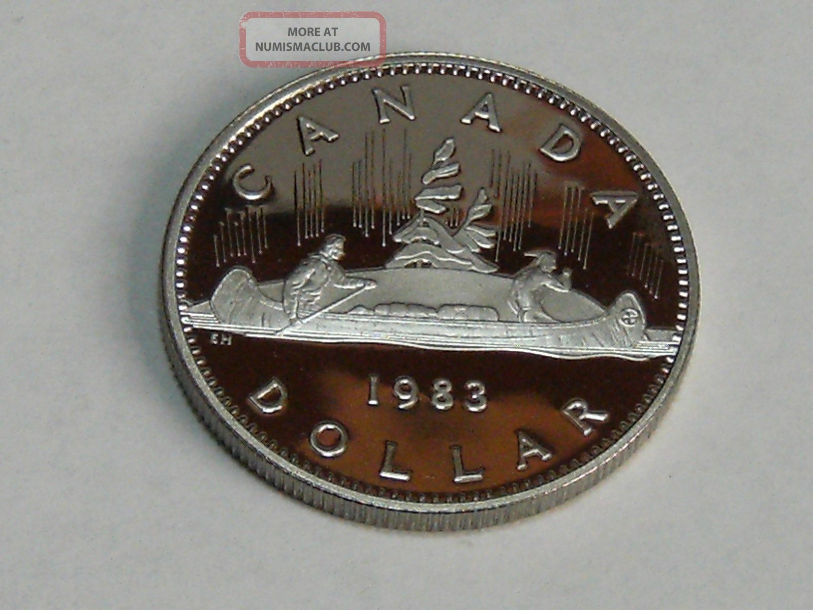 1983 Canadian One Dollar Proof 7847 Coins: Canada photo