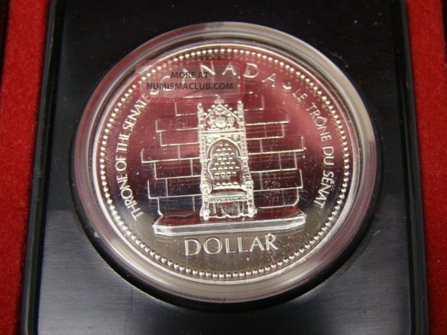 Rcm Canada 1977 Silver Jublilee $1 One Dollar Coin Coins: Canada photo