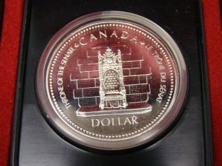 Rcm Canada 1977 Silver Jublilee $1 One Dollar Coin photo