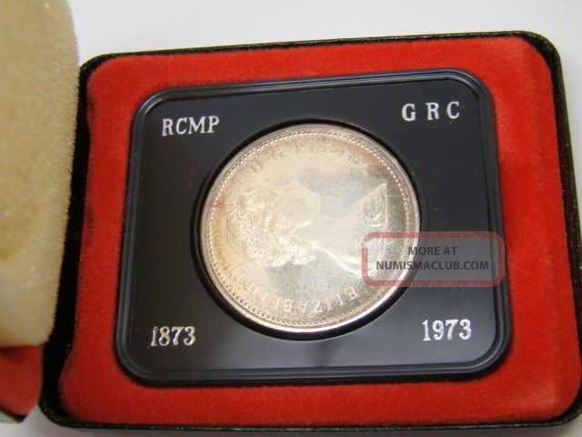 Rcm 1973 Canada Jubilee Silver $1 One Dollar Coin Coins: Canada photo