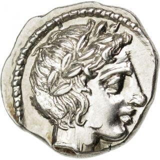 [ 32697] Macédoine,  Ligue Chalcidique,  Olynthe,  Tétrobole photo