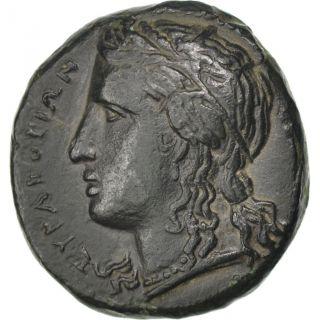 [ 32693] Sicile,  Syracuse,  Bronze,  Ae 19 photo