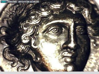 2rooks Greek Macedon Amphipolis Tetradrachm Coin Apollo / Torch photo