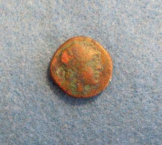 Rare Bronze Coin Of Pontos/amisos 2nd - 1st Cent.  B.  C. photo