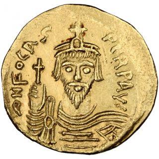 Bysantine Empire,  Phocas,  Solidus photo