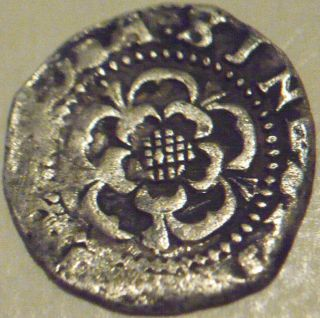 1604 - 1619 James I Hammered Silver Penny - London Tower - 2nd Coinage photo
