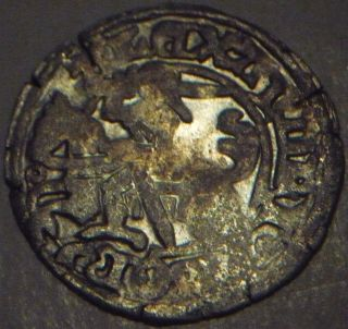 1492 - 1506 Lithuania Alex Jagiellon Hammered Silver 1/2 Grosz photo