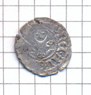 Moldova Moldavia Silver Groat Grosz Groschen Coin Alexandru Cel Bun 1400 - 1432 [2 photo