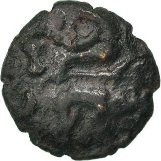 [ 65606] Ambiens (région D ' Amiens),  Bronze Aux Sangliers Affrontés, . . . photo