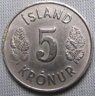 Iceland 1974 - 5 Kronur photo