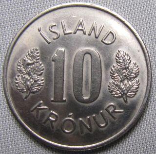 Iceland 1977 - 10 Kronur photo