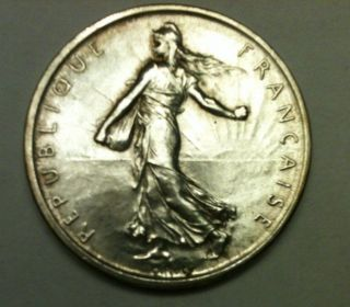 1960 France - 5 Franc Silver / photo