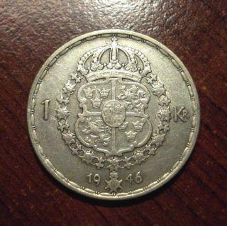 1946 Sveriges 1 Krona photo
