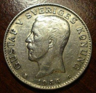 1936 Sveriges 1 Krona photo