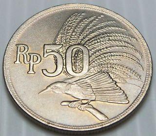 Indonesia - 1971 50 Rupiah - Km35 - photo