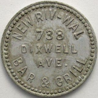Riv - Wal Bar & Grill,  10 Cent Token photo