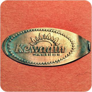 Casino Logo,  Kewadin Casinos,  1 - 800 - Kewadin,  Saint Ignace,  Mi Michigan Mule Coin photo