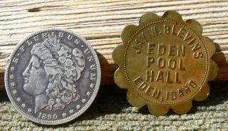 1900s Eden Idaho Id (tiny Town Jerome Co