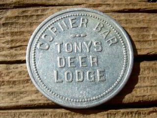 Old Deer Lodge,  Montana Mt (powell Co)