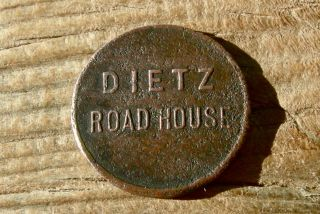 1900 Dietz Wy Wyoming (ghost Town,  Sheridan) Xrare Site,  R - 10