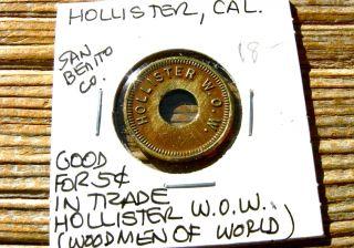 1900s Hollister Ca California (san Benito)