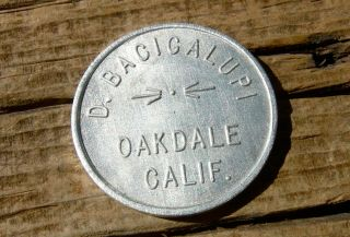 1900s Oakdale Ca.  California (stanislaus Co)
