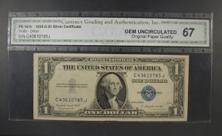 $1 SILVER Blue Seal Certificate OLD $5/& 2 Dollar RED Seal US Notes Bills