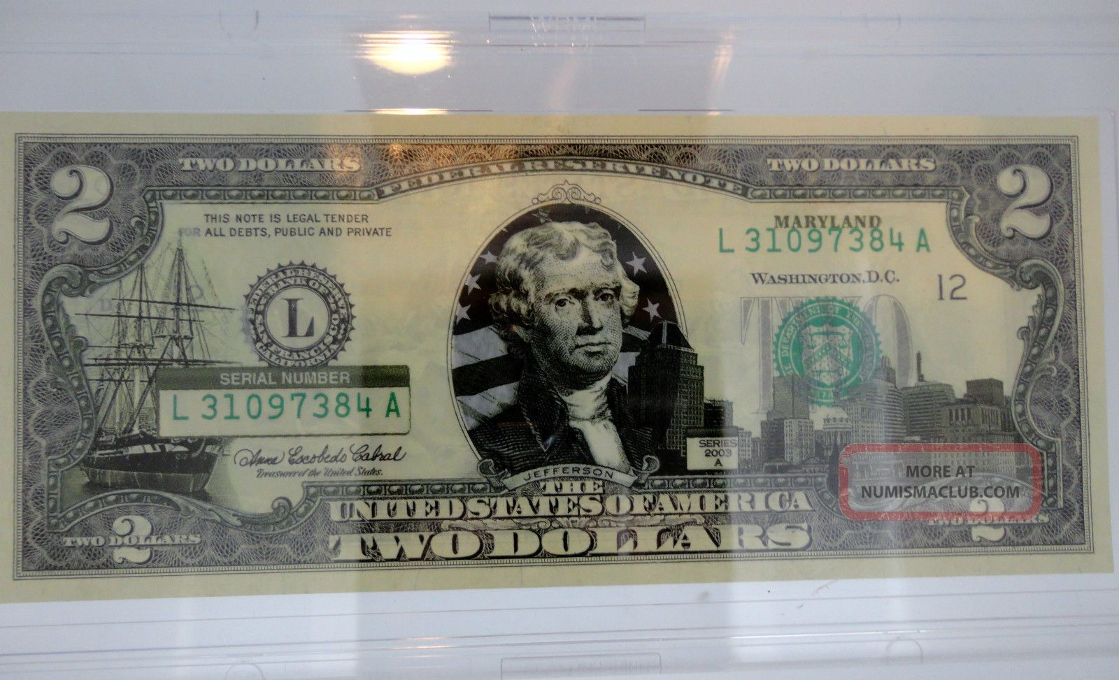 2003 A Series Us State