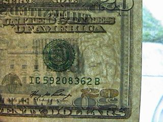 20 Dollar Bill 2006 Lazy Eye Twenty Rare Pmg Worthy Jackson Is Winking Look photo