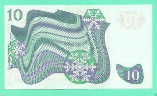 Sweden 10 Kronor 1975 Unc Crisp G 006512 photo