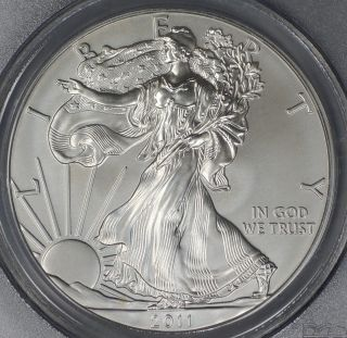 2010 W Pcgs Pr70dcam $1 American Silver Eagle First Strike Has Milk