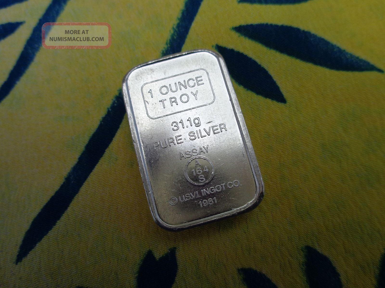 1 Oz Anaheim Metal Co Stackable Ingot 999 Fine Silver