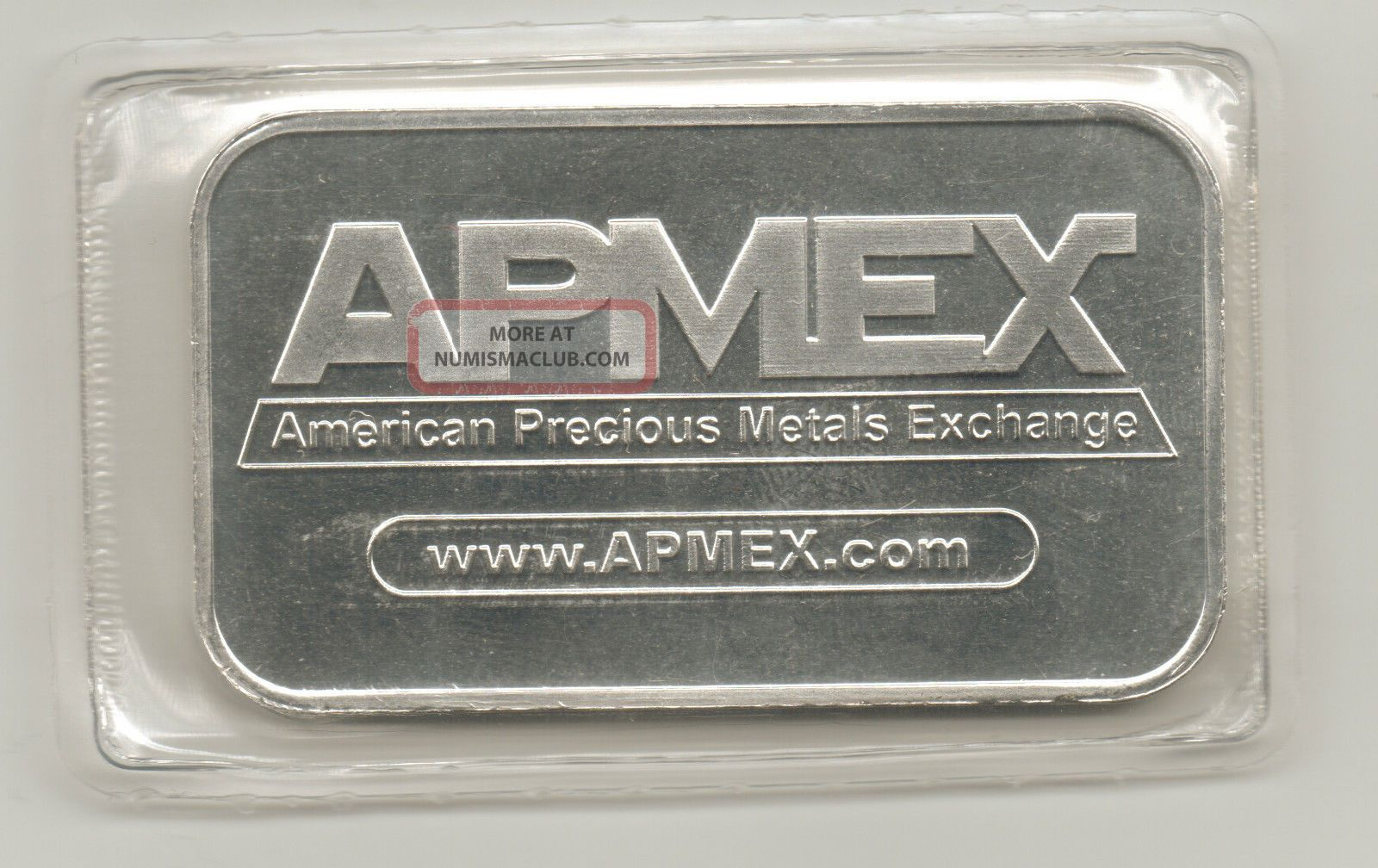 Apmex Traditional Silver Bar 1 Troy Oz 999 Fine Silver Bar