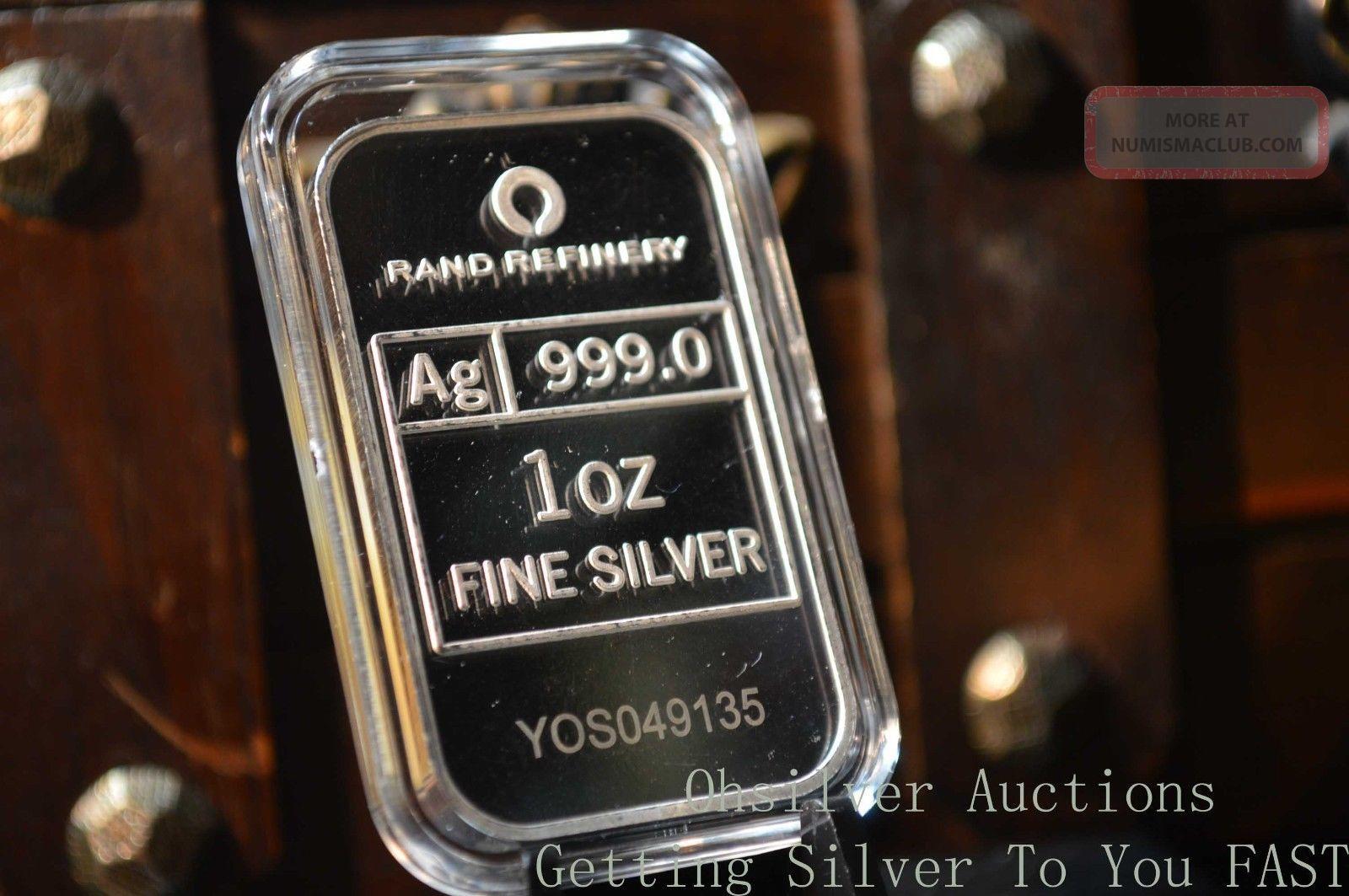 1 Oz Pure Silver Bar 999 Fine Silver Bullion 2013 Year Of