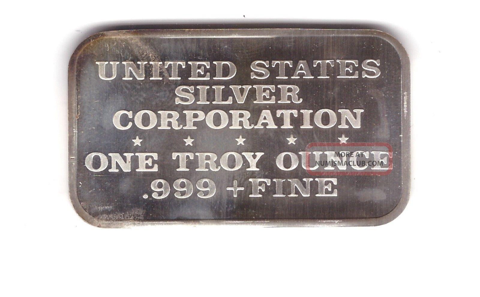 999 Silver Art Bar Vintage Ingot 1 Oz 1974 Joan Of