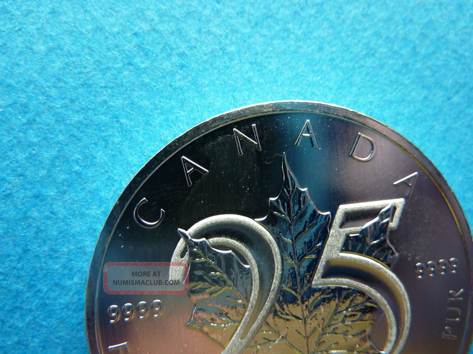 2013 Quot 25th Anniversary Maple Quot 1 Troy Oz 31 106g 9999