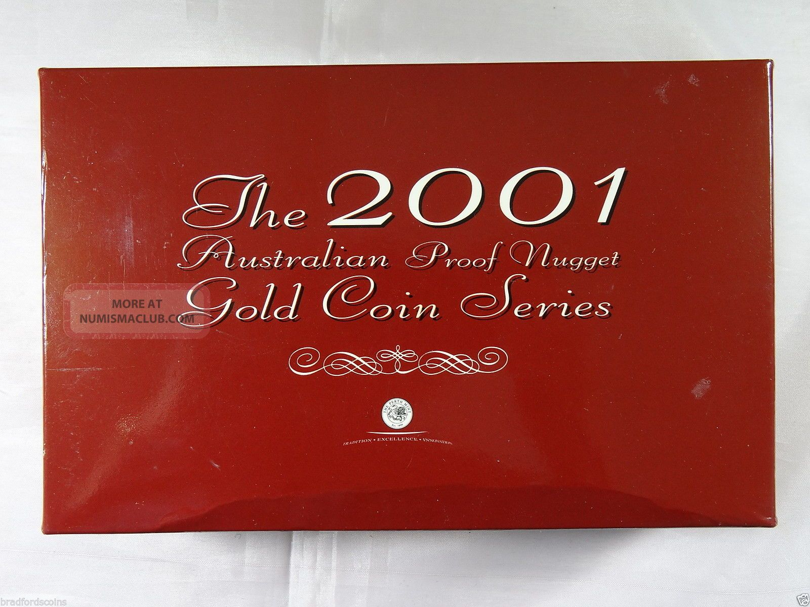 The 2001 Australian Proof Nugget Gold Coin Series Coins: World photo