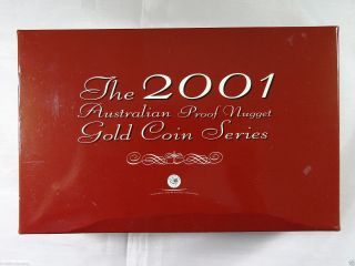 The 2001 Australian Proof Nugget Gold Coin Series photo