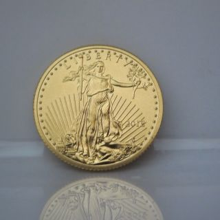 2013 1/4 Oz.  Fine Gold Eagle $10 Coin - Awesome U.  S.  Bullion photo
