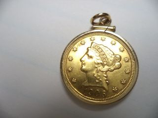 2 1/2 Gold Liberty Head Coin photo