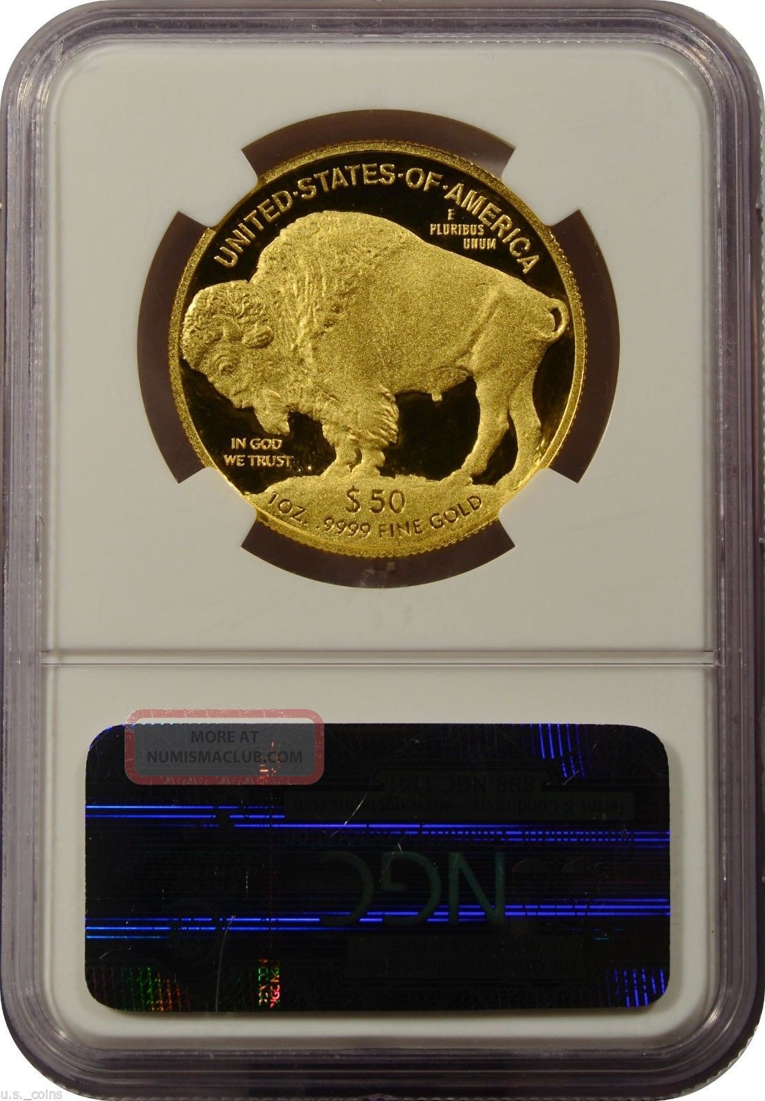 2009 W 50 Gold Buffalo Ngc Pf70 Ultra Cameo Early
