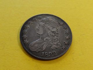 1832 Capped Bust Half Dollar Vf photo