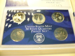 2000 - S U.  S.  Proof Quartes photo