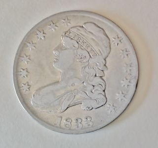 1833 Bust Half Dollar photo