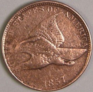 1857 Flying Eagle Cent,  Fe 102 photo